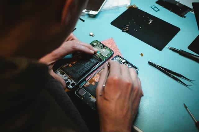 image réparation smartphone