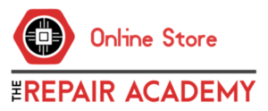 logo the repair academy store