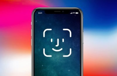 Logo Face ID iPhone X