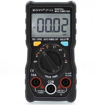 mesure multimètre digital