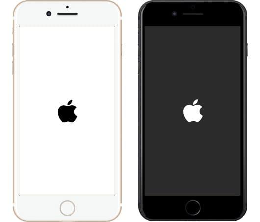 ecran figé apple iphone 8