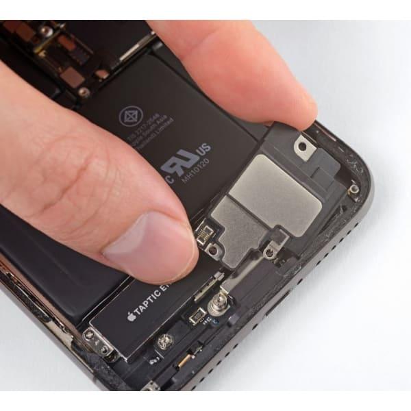 haut-parleur-iphone-x