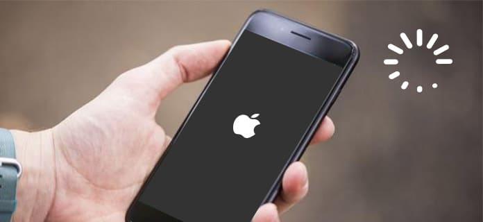 iPhone 7 figé