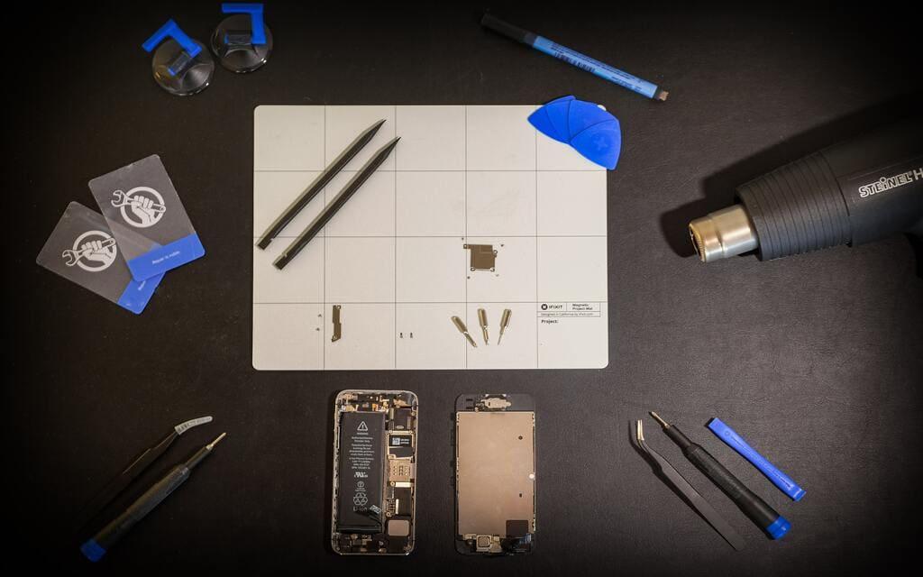 Outils de travail reparation smartphone