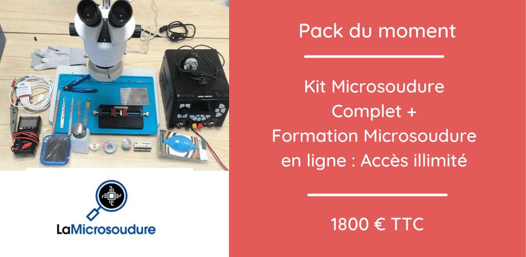 Pack Microsoudure Formation en ligne