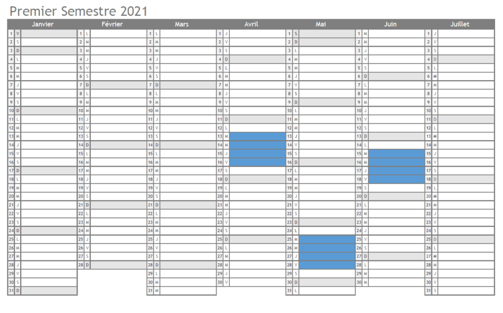 Calendrier formations reparation classique